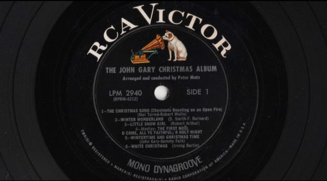 The John Gary Christmas Album – 1964 – Vinyl Record Full Album Rip