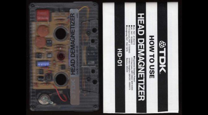 TDK – Head Demagnetizer – HD-01 – 1980? – Cassette Tape Full Album
