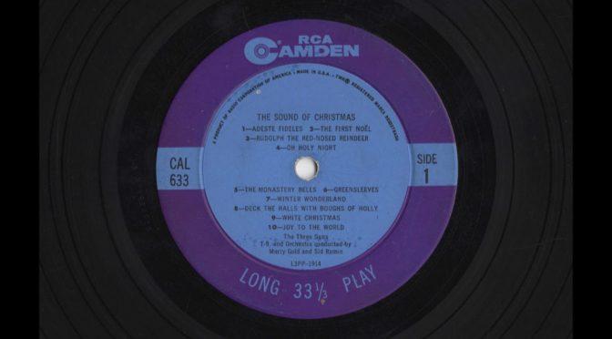 The Three Suns – The Sound Of Christmas – CAL-633 – 1960 – Vinyl Record LP Full Album
