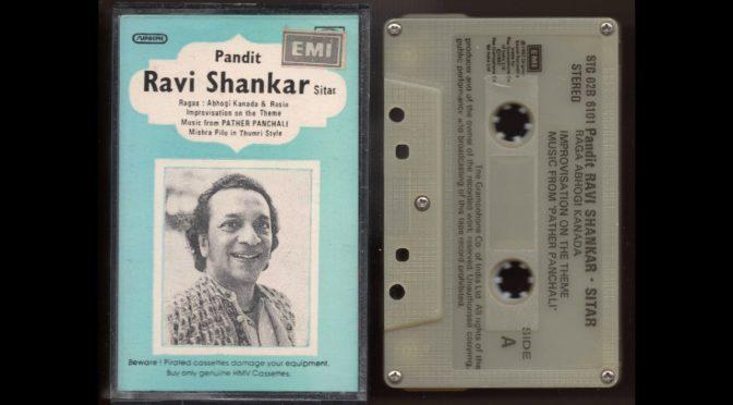 Ravi Shankar – Pandit – 1982 – Cassette Tape Full Album