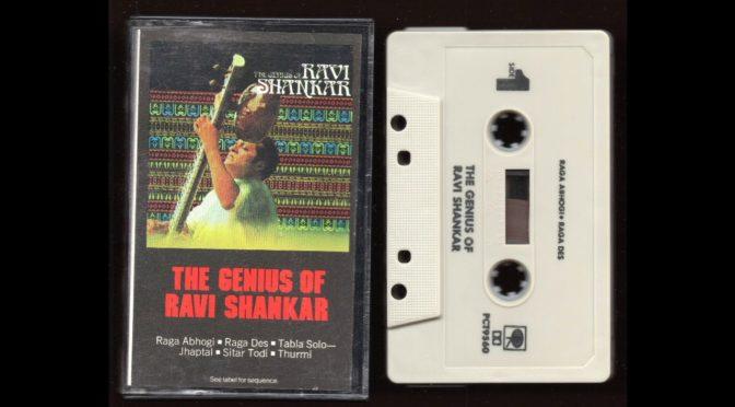 Ravi Shankar – The Genius Of Ravi Shankar – PCT-9560 – 1967 – Cassette Tape Full Album