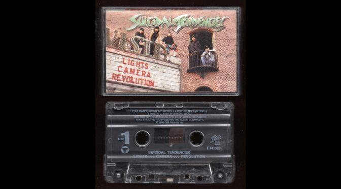 Suicidal Tendencies – Lights…Camera…Revolution – 1990 – Cassette Tape Full Album