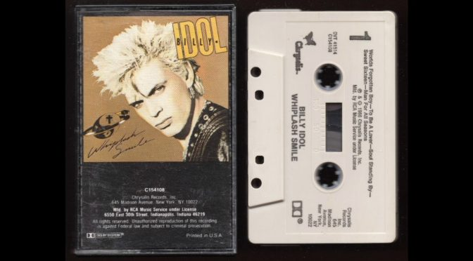 Billy Idol – Whiplash Smile – 1986 – Cassette Tape Rip Full Album