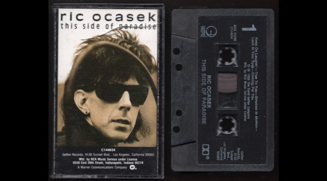 Ric Ocasek – This Side Of Paradise – 1986 – Cassette Tape Rip Full Album