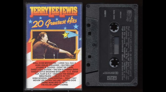 Jerry Lee Lewis – 20 Greatest Hits  – Cassette Tape Rip Full Album