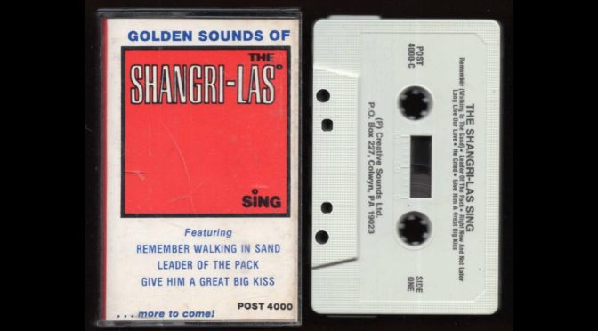 The Shangri-Las – Sing – 1965 – Cassette Tape Rip Full Album