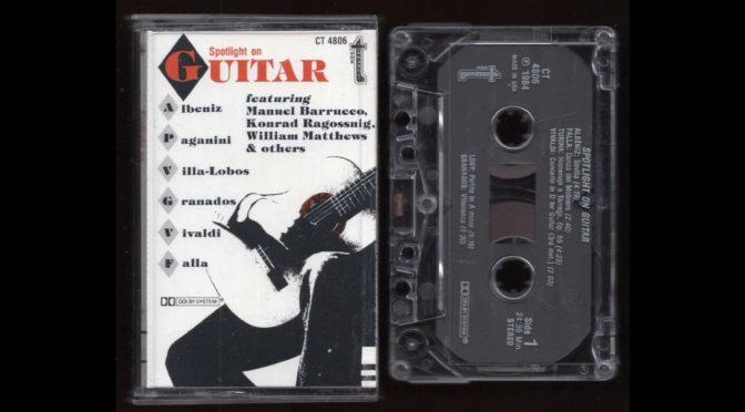 Spotlight on Guitar – 1984 – Cassette Tape Rip Full Album