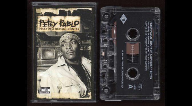 Petey Pablo – Diary of a Sinner: 1st Entry – 2001 – Cassette Tape Rip Full Album