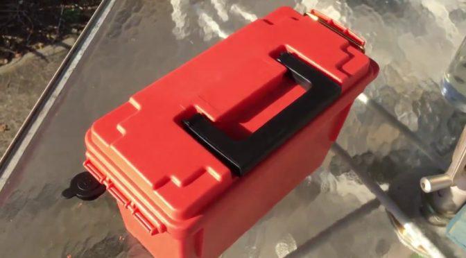 DIY SURVIVAL POWER BOX – NEXT DAY – 5 MINUTE BUILD