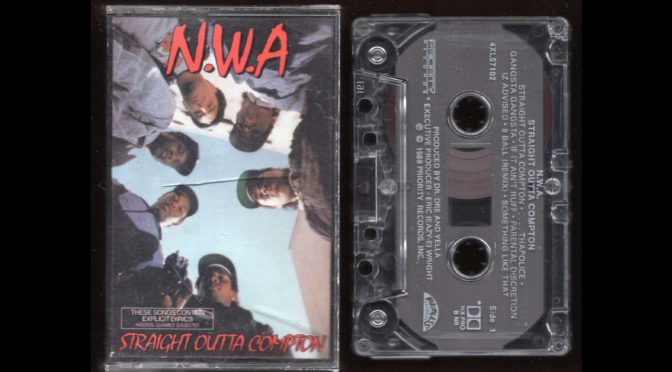 N.W.A. – Straight Outta Compton – 1988 – Cassette Tape Rip Full Album