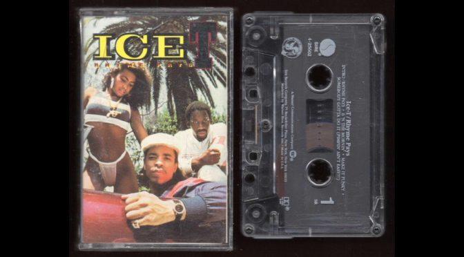 Ice T – Rhyme Pays – 1987 – Cassette Tape Rip Full Album