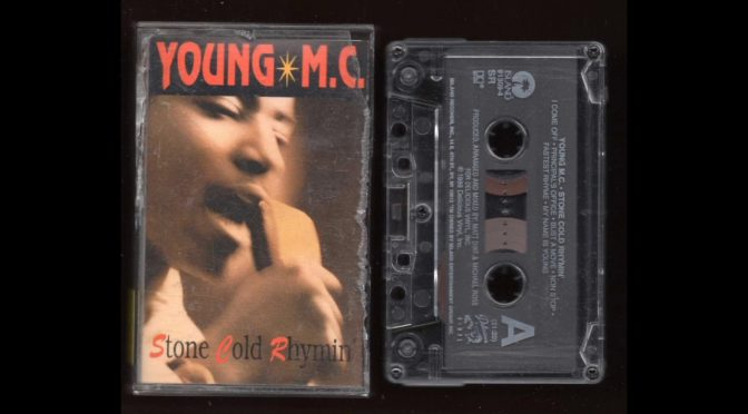 Young MC – Stone Cold Rhymin – 1989 –  Cassette Tape Rip Full Album