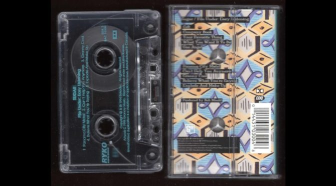 SUGAR – File Under: Easy Listening – 1994 Cassette Tape Rip Full Album