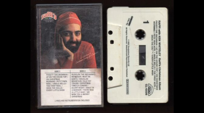 Raffi's Christmas Album – Raffi with Ken Whitley – 1983 –  Cassette Tape Rip Full Album