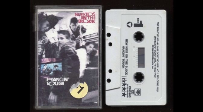 NEW KIDS ON THE BLOCK – HANGIN TOUGH – 1988 – Cassette Tape Rip Full Album