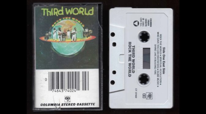 THIRD WORLD – ROCK THE WORLD – 1981 – Cassette Tape Rip Full Album