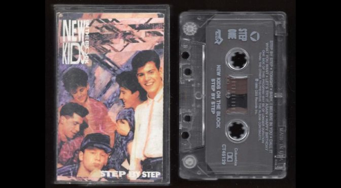 NEW KIDS ON THE BLOCK – STEP BY STEP – 1990 – Cassette Tape Rip Full Album