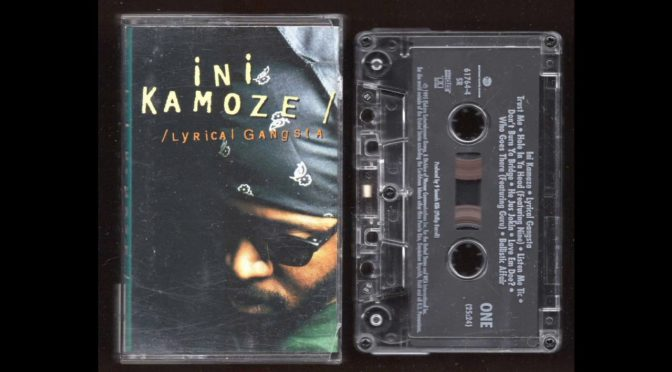 INI KAMOZE – LYRICAL GANGSTA – 1995 – Cassette Tape Rip Full Album