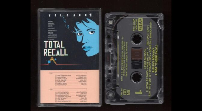 VOLCANO 1 TOTAL RECALL Cassette Tape Rip Full Album