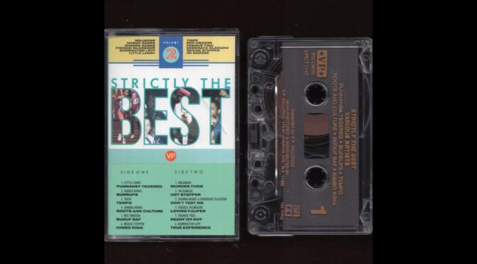 STRICTLY THE BEST 2 VARIOUS ARTISTS  Cassette Tape Rip Full Album 1